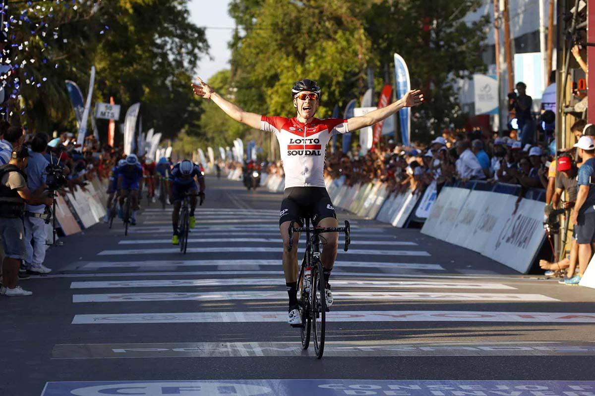 Jelle Wallays vince la sesta tappa della Vuelta a San Juan 2018