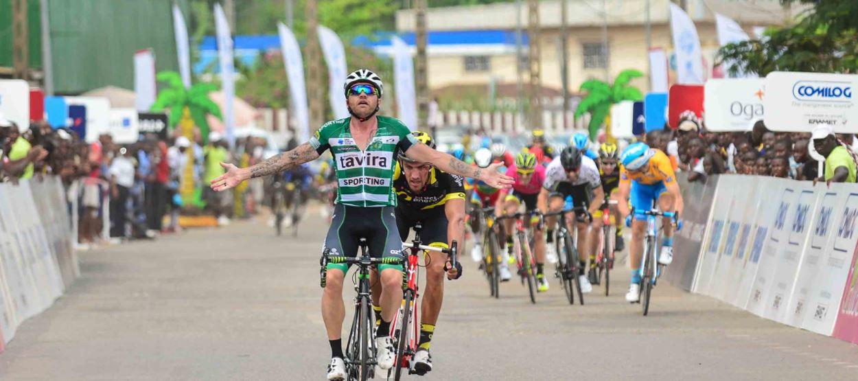 Rinaldo Nocentini vince la terza tappa de La Tropicale Amissa Bongo