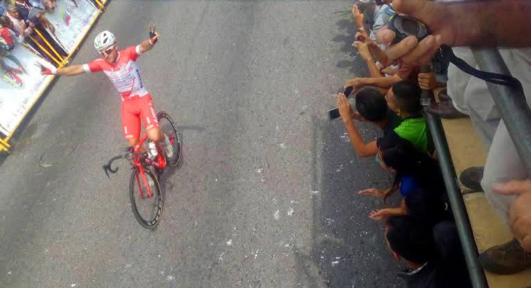 Matteo Malucelli vince la terza tappa della Vuelta al Tachira
