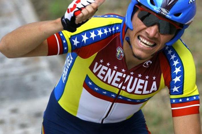 Jorge Abreu vincitore della quinta tappa della Vuelta al Tachira 2018