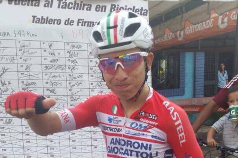 Kevin Rivera vince la sesta tappa della Vuelta al Tachira 2018