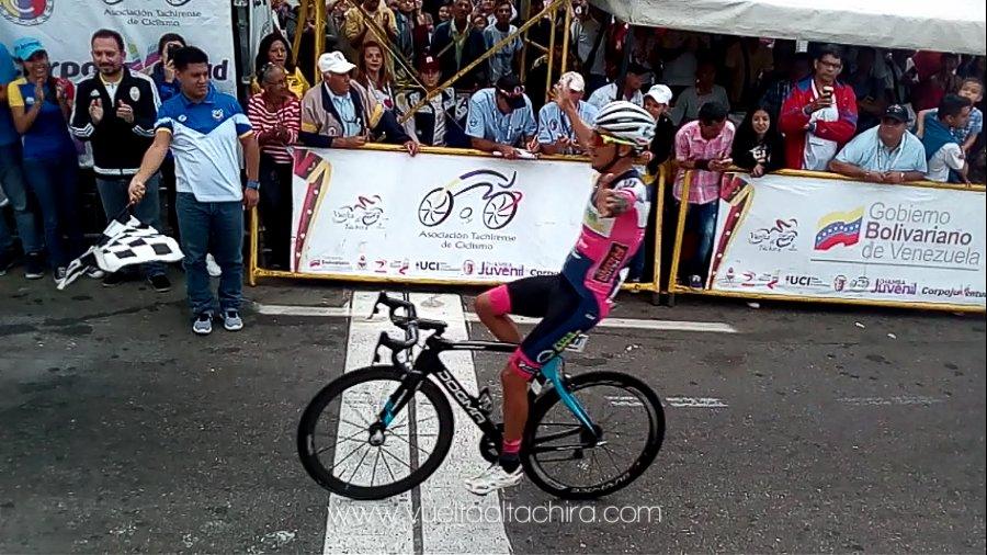 Yonathan Monsalve vince l'ultima tappa della Vuelta al Tachira 2018