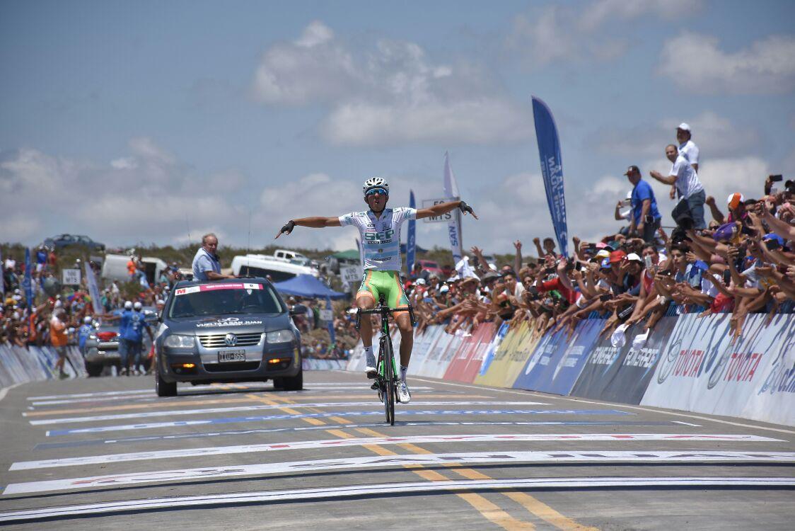 L'argentinoGonzalo Najar vince la quinta tappa dellaVuelta a San Juan 2018