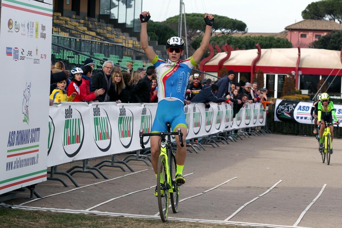 La vittoria di Filippo Borello a Roma