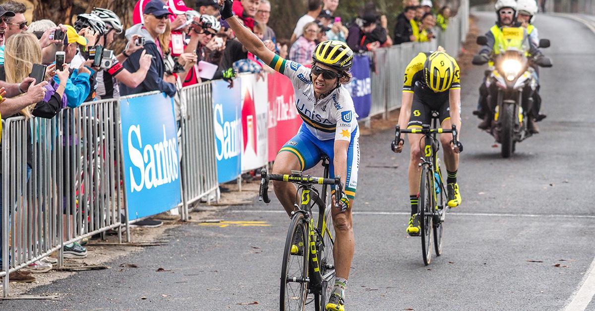 Katrin Garfoot vince la seconda tappa del Santos Women's Tour