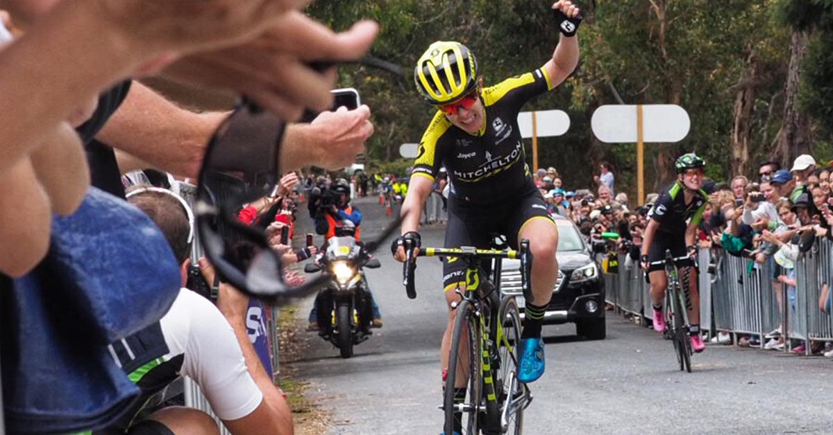 Amanda Spratt vince la terza tappa del Santos Women's Tour