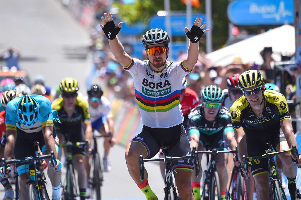 Peter Sagan vince la quarta tappa del Tour Down Under 2018