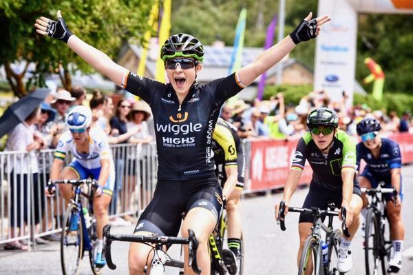 Edmondsonvince la prima leader del delSantos Women's Tour 2018