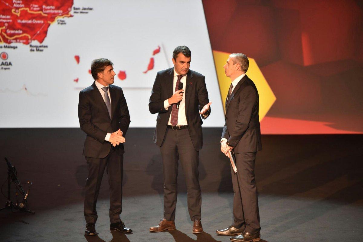 L'intervento di Javier Guillén alla presentazione di La Vuelta 2018