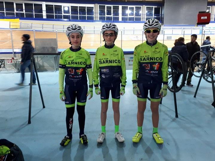 La squadra Esordienti 2018 del Velo Club Sarnico