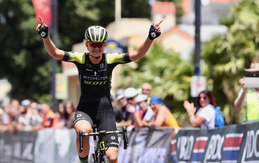 Georgia Williams vince il titolo neozelandese della prova in linea Donne Elite