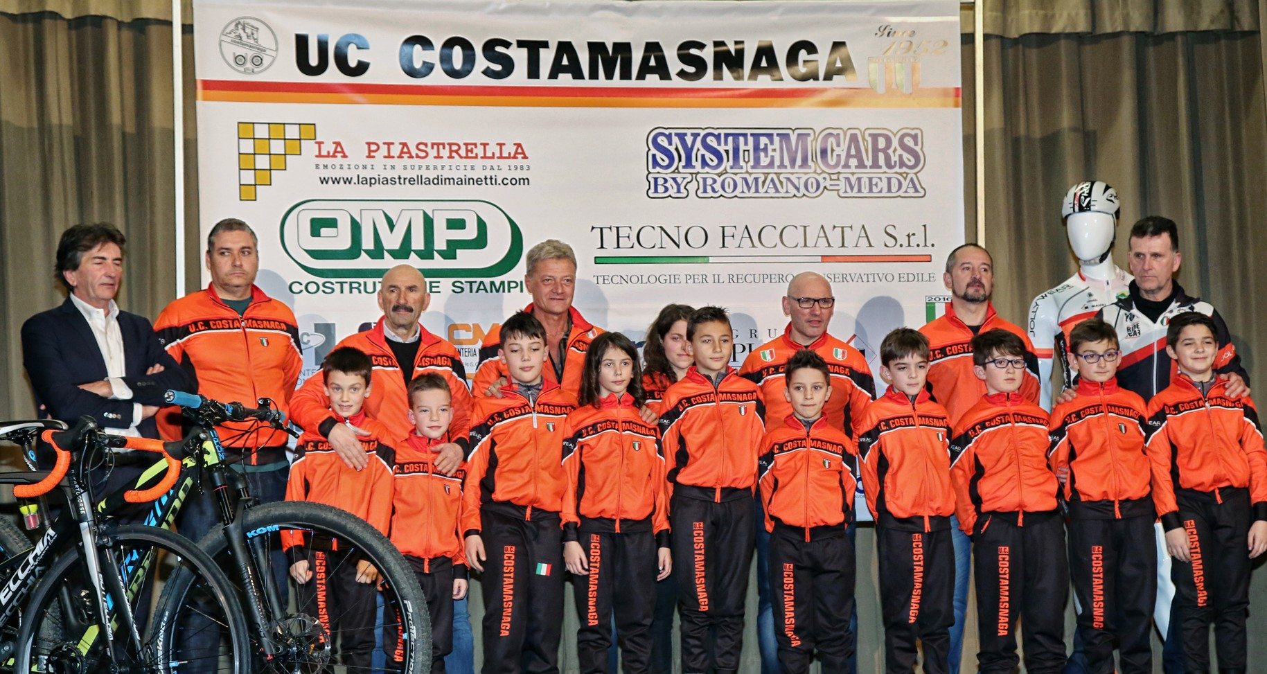 I Giovanissimi dell'Uc Costamasnaga 2018