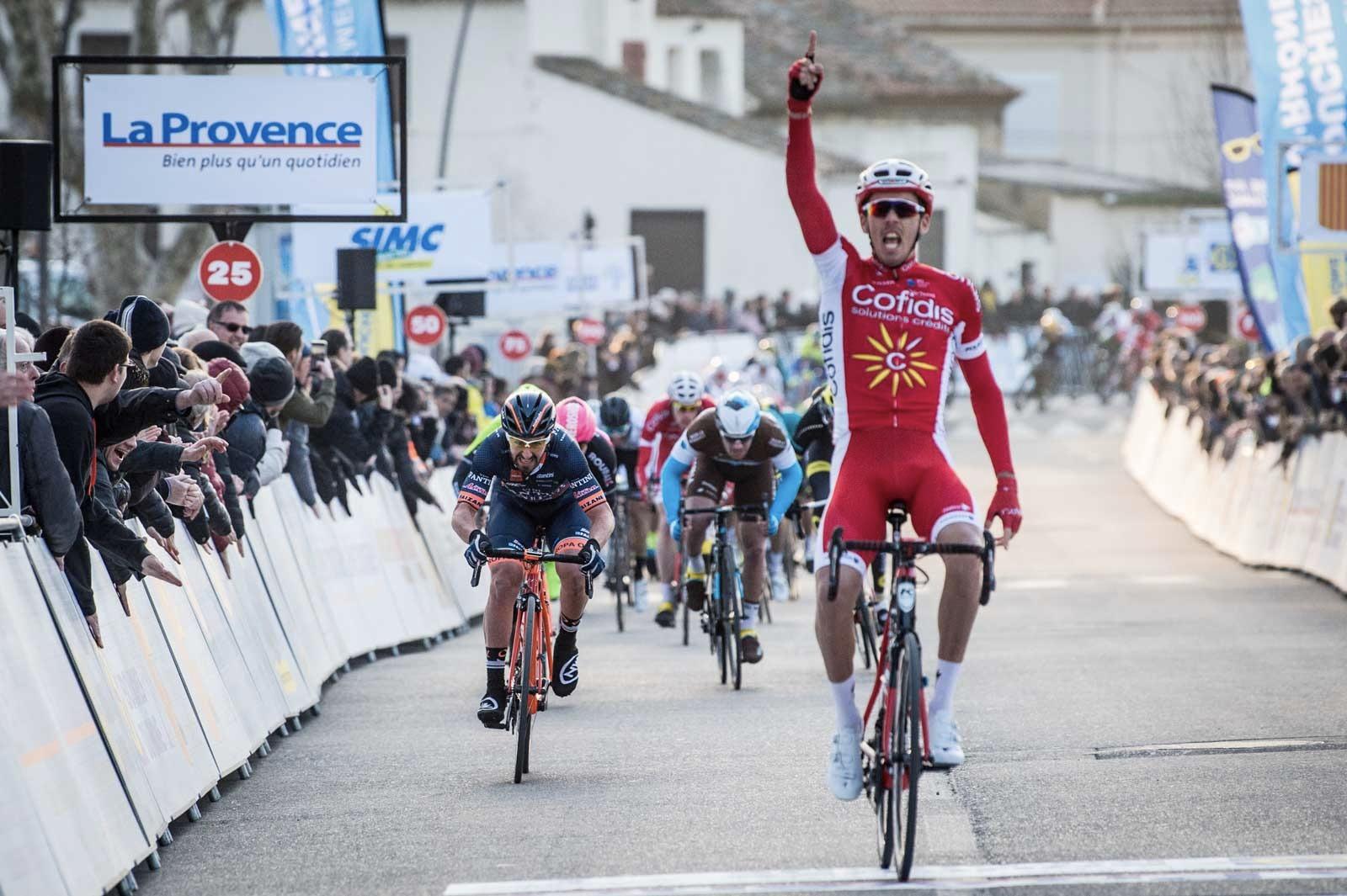 Christophe Laporte vince la prima tappa del Tour La Provence