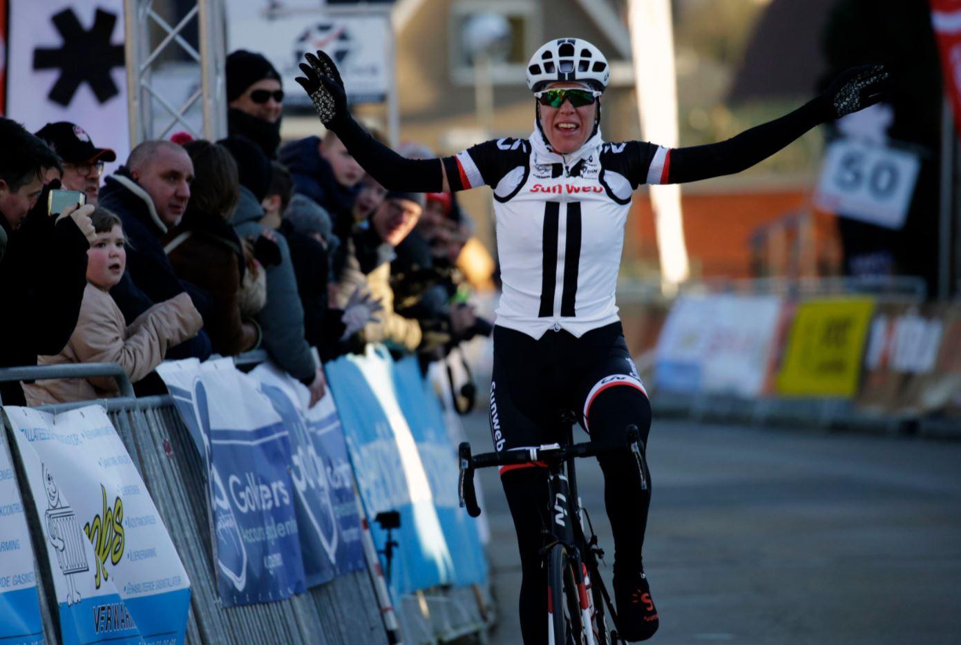 Ellen Van Dijk vince la Spar - Omloop van het Hageland 2018