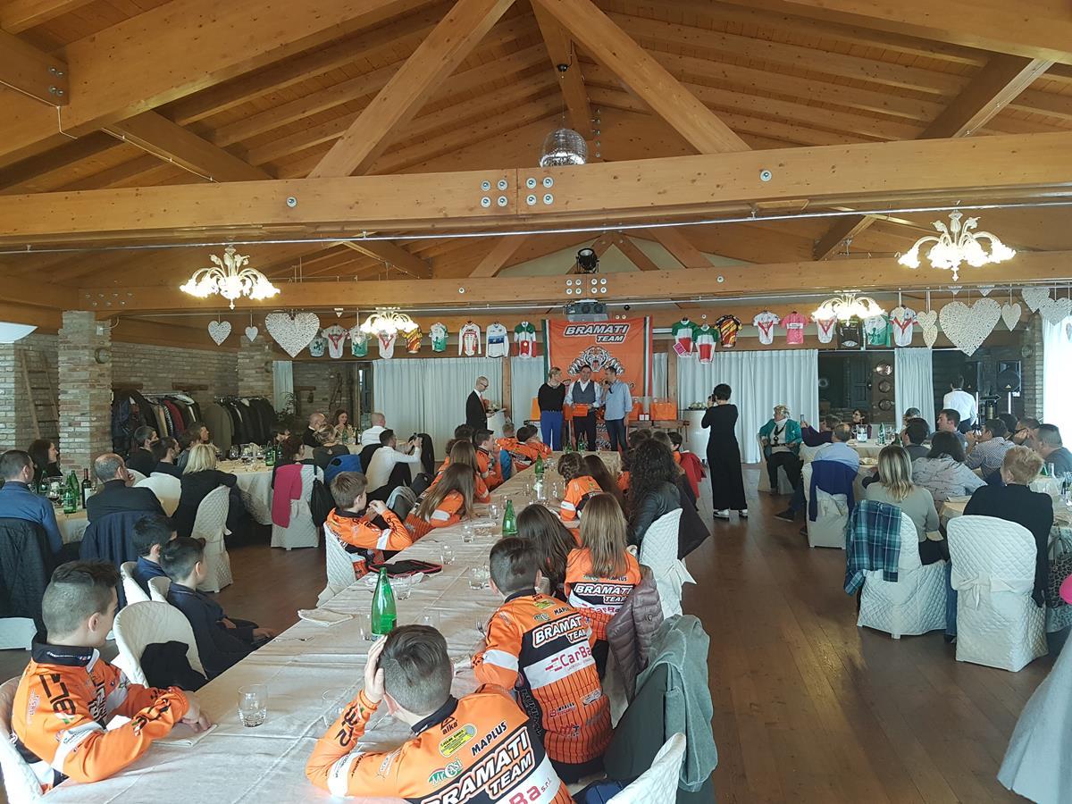 La festa del Team Bramati