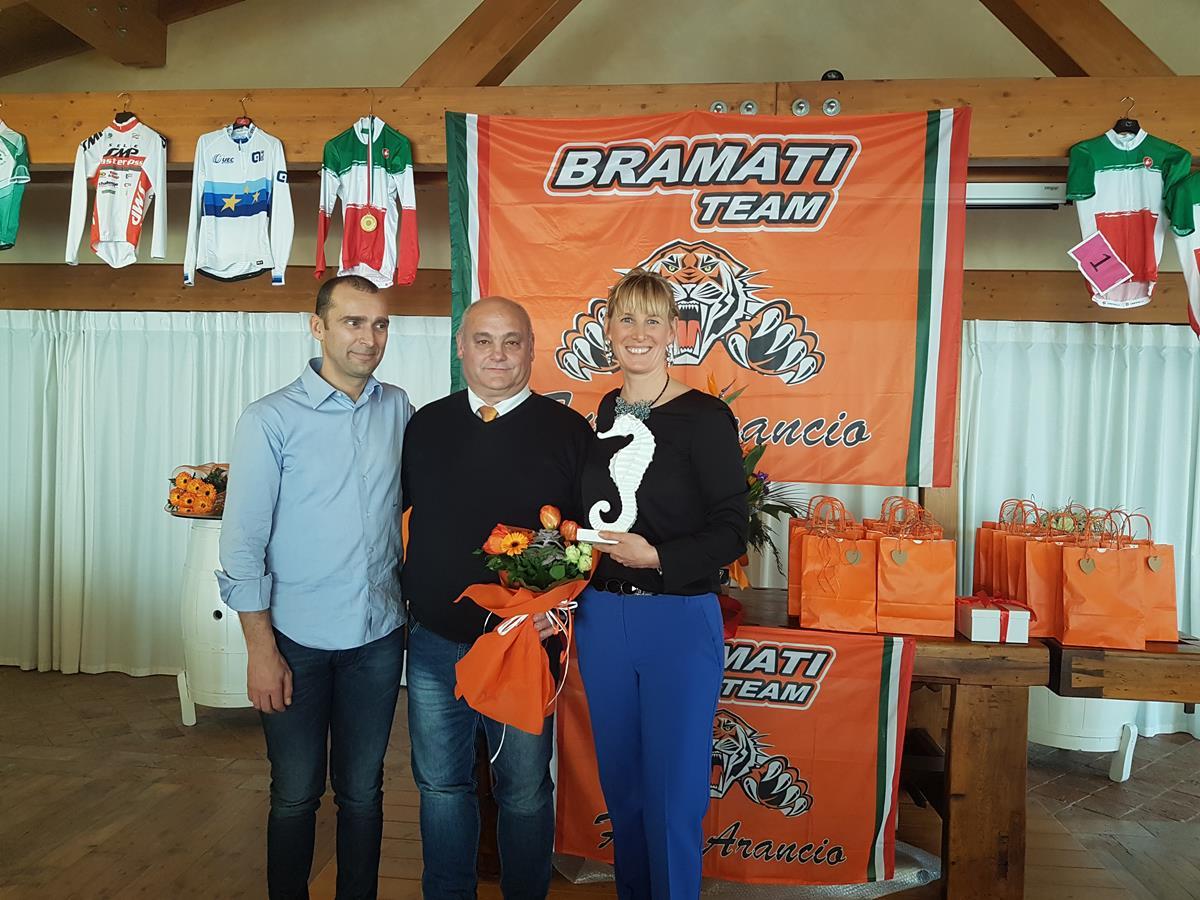 Luca Bramati ed Elena Merenti premiati col cavalluccio marino