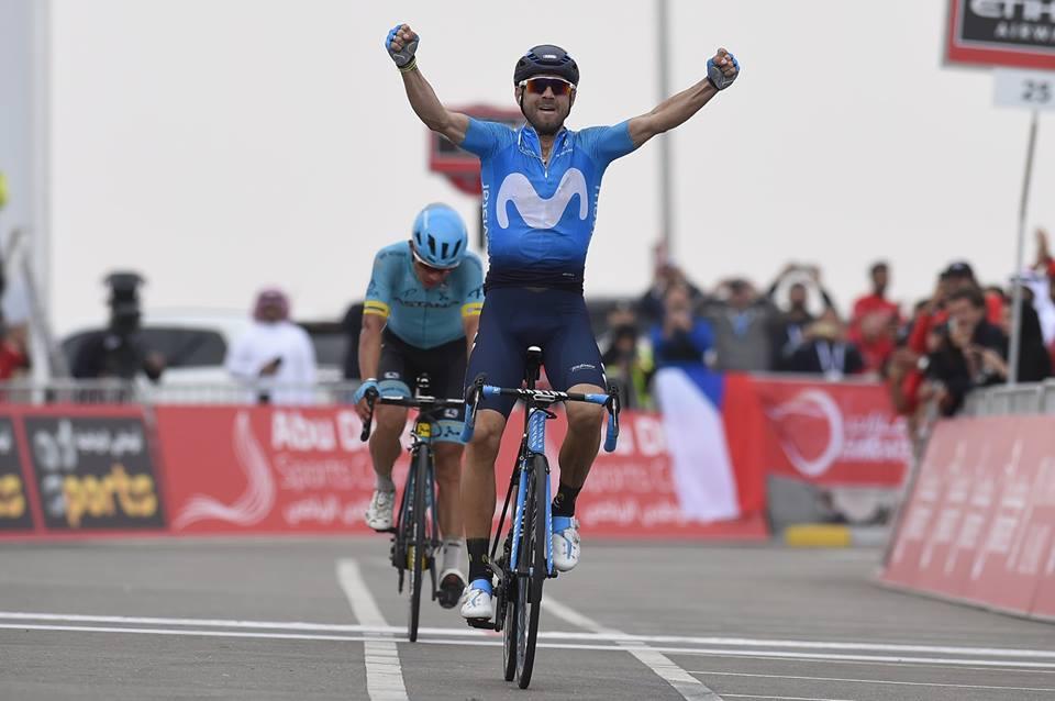 Alejandro Valverde vince l'ultima tappa e la classifica finale dell'Abu Dhabi Tour