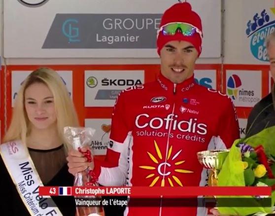 Christophe Laportevincitore della seconda tappa dell'Etoile de Besseges