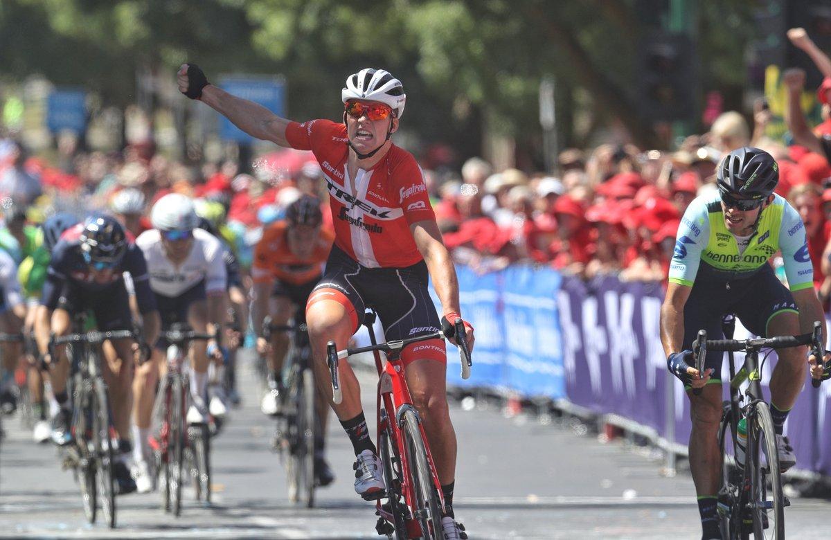 Mads Pedersen vince la seconda tappa dell'Herald Sun Tour 2018