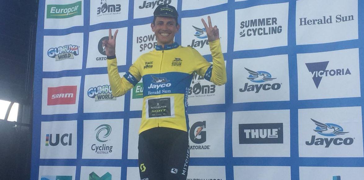 Esteban Chaves vince la terza tappa dell'Herald Sun Tour