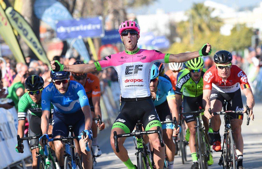 Sacha Modolo vince la terza tappa della Vuelta a Andalucia 2018