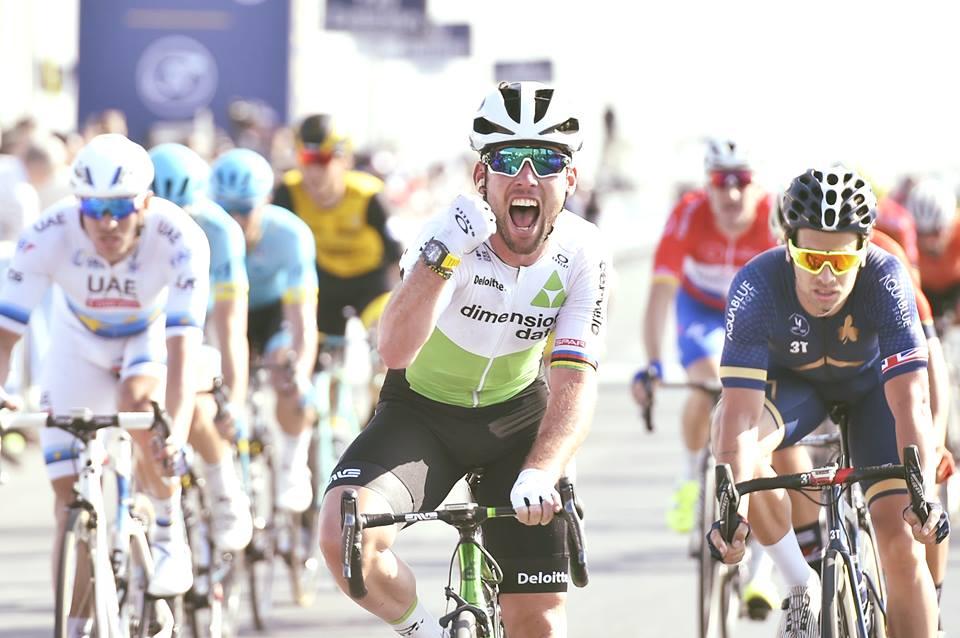 Mark Cavendish vince la terza tappa del Dubai Tour 2018