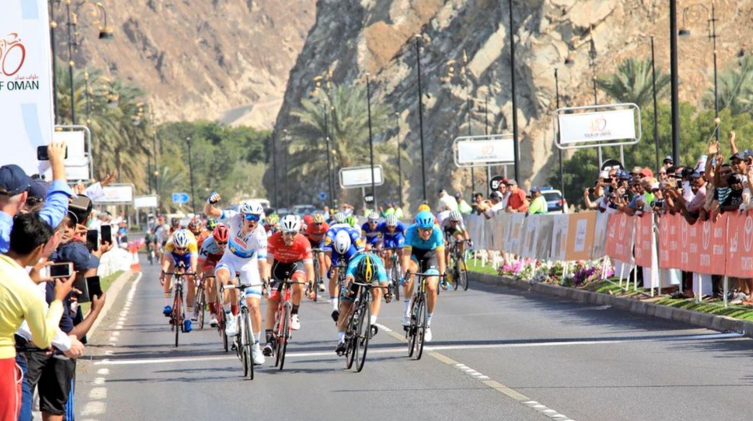 Alexander Kristoff vince la sesta tappa del Tour of Oman 2018