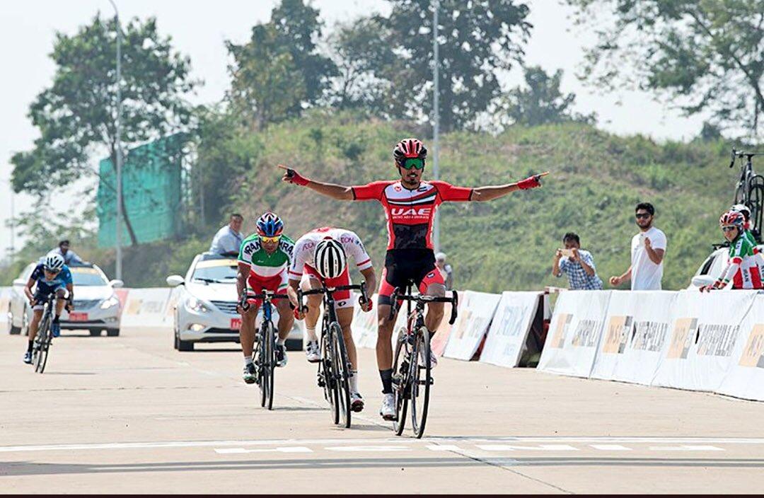 Yousif Mirzavince i Campionati Asiatici di ciclismoper professionisti 2018