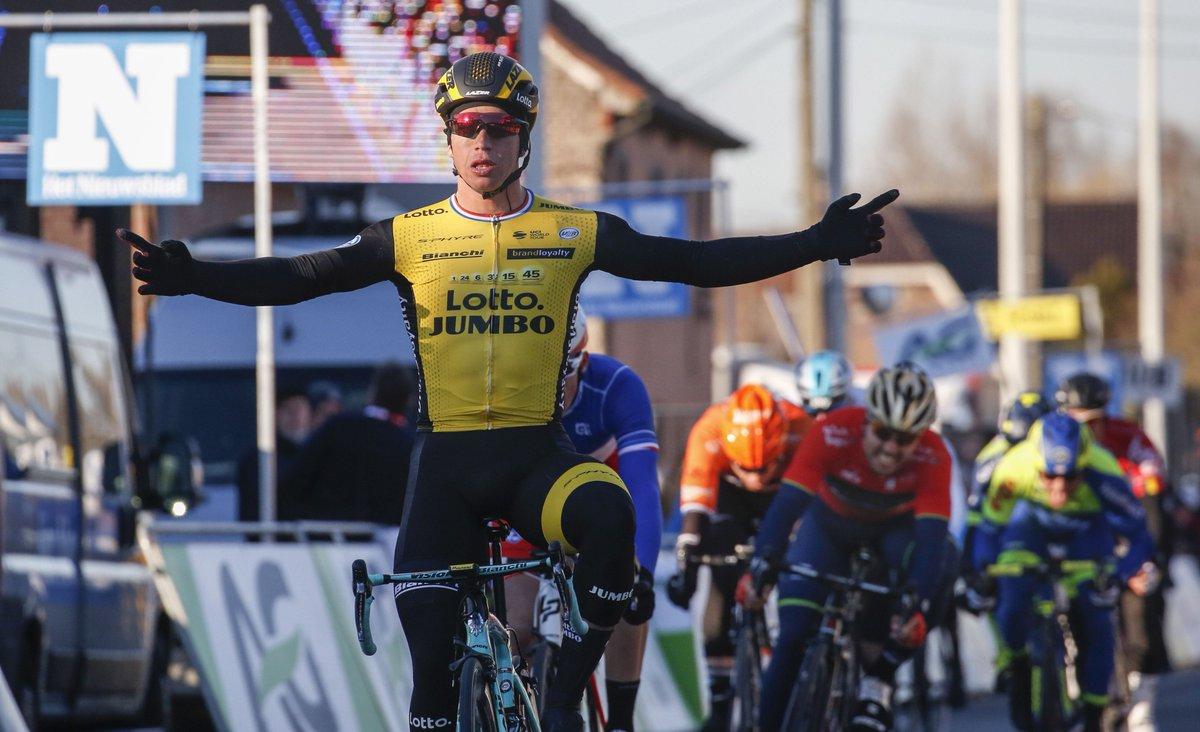 Dylan Groenewegen vince la 70/a Kuurne-Bruxelles-Kuurne