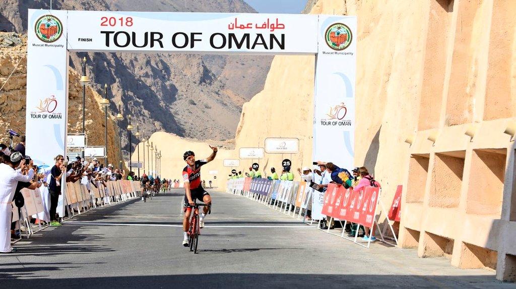 Greg Van Avermaet vince la terza tappa del Tour of Oman 2018