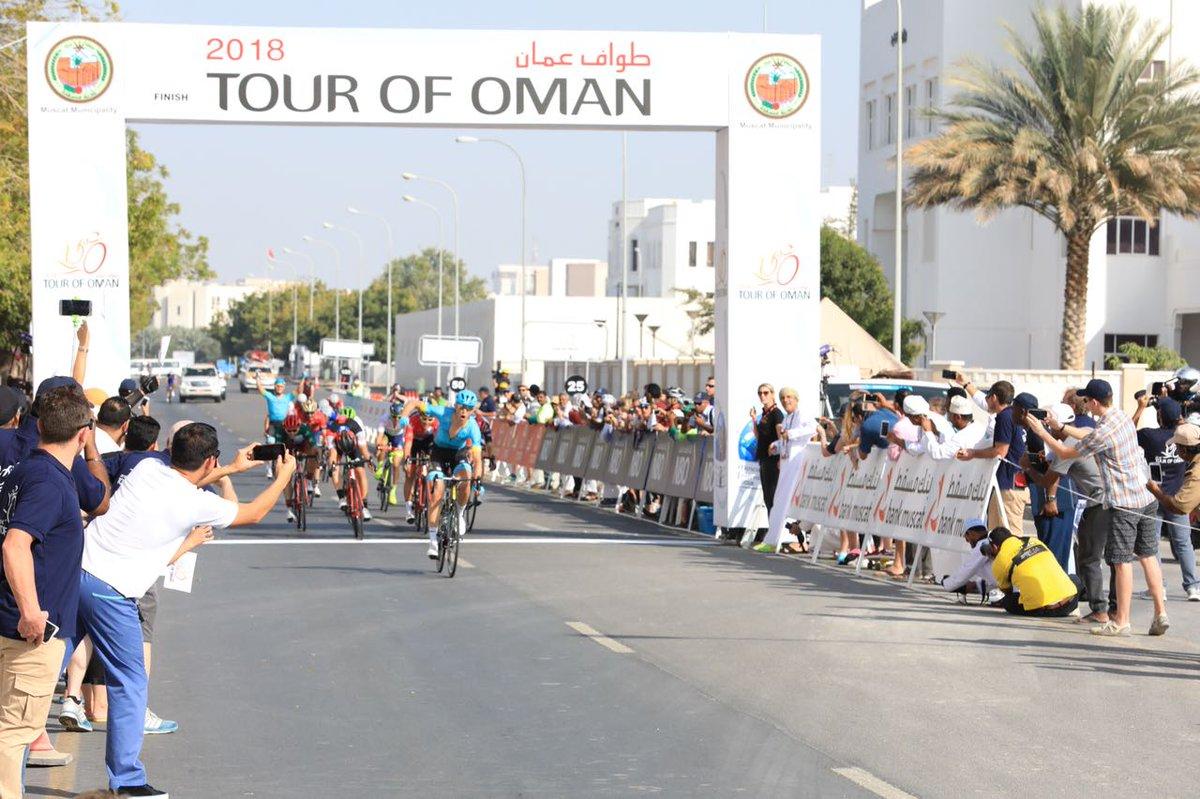 Magnus Cort Nielsen vince la quarta tappa del Tour of Oman