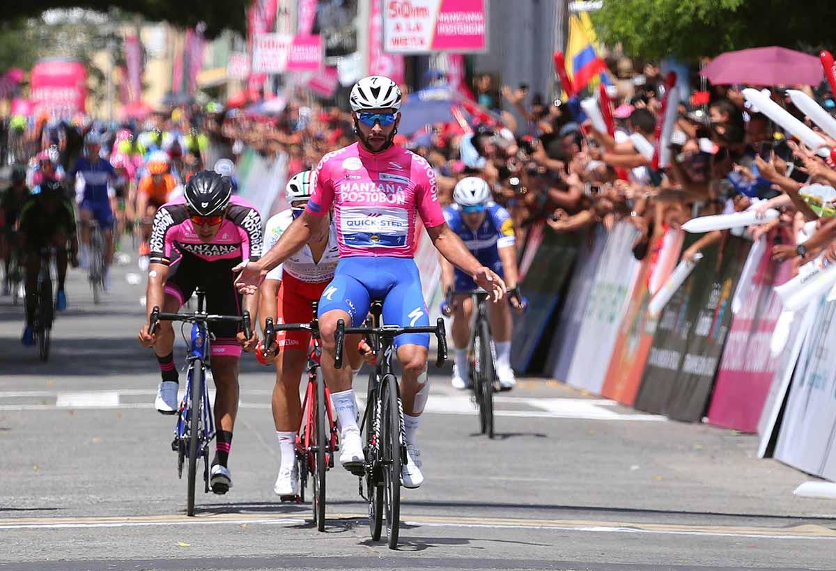 Fernando Gaviria vince la terza tappa della Colombia Oro y Paz 2018