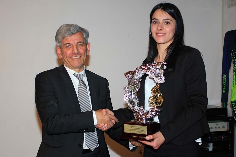 La premiazione di Alessia Martini