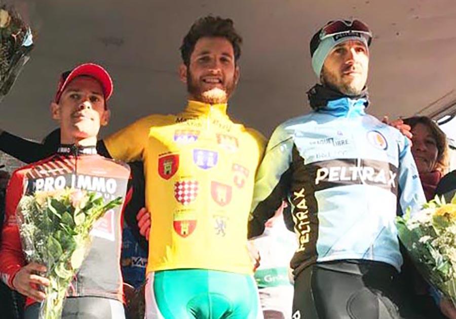 Filippo Tagliani vince la quarta tappa della Boucles du Haut-Var 2018