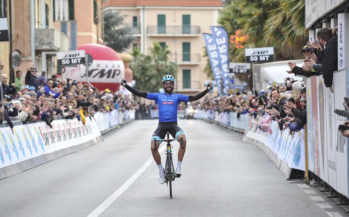 La vittoria di Moreno Moser al Trofeo Laigueglia 2018