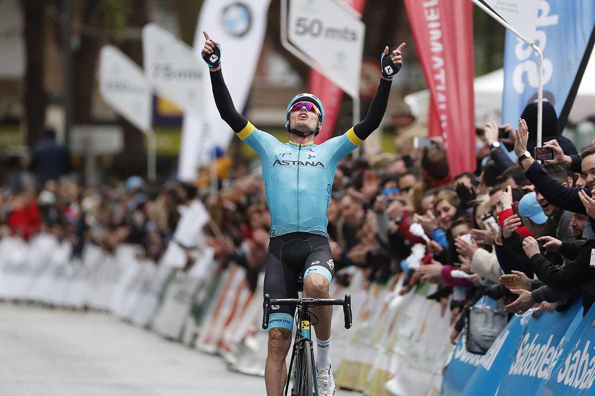 Luis León Sanchez vince la Vuelta Ciclista a la Region de Murcia Costa Calida 2018