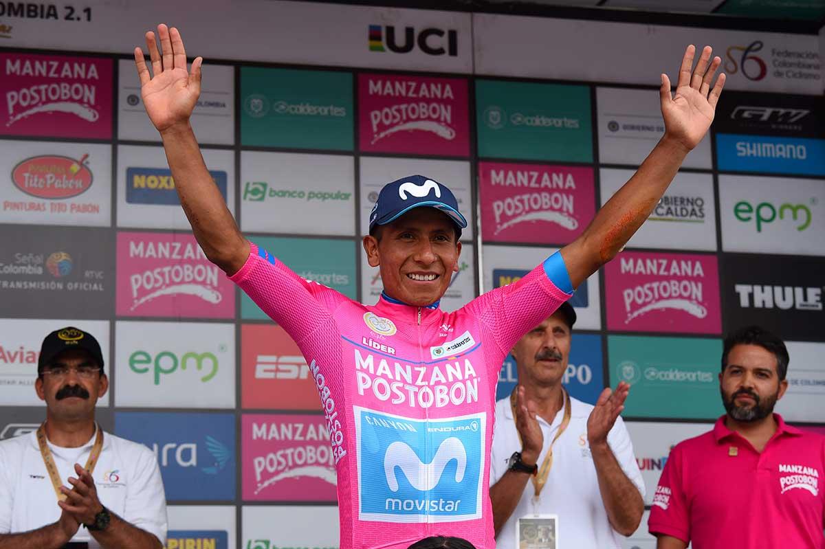 Nairo Quintana nuovo leader della Colombia Oro y Paz 2018