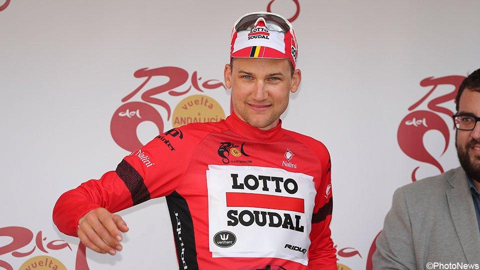 Tim Wellens vincitore della Vuelta a Andalucia 2018