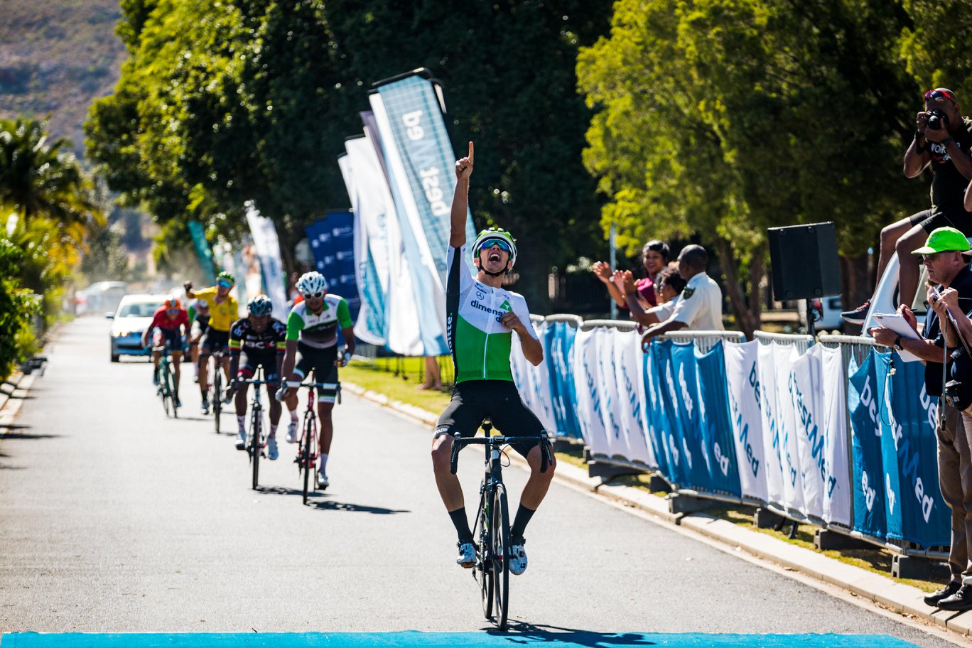 Matteo Sobrero vince la quarta tappa del Tour of Good Hope