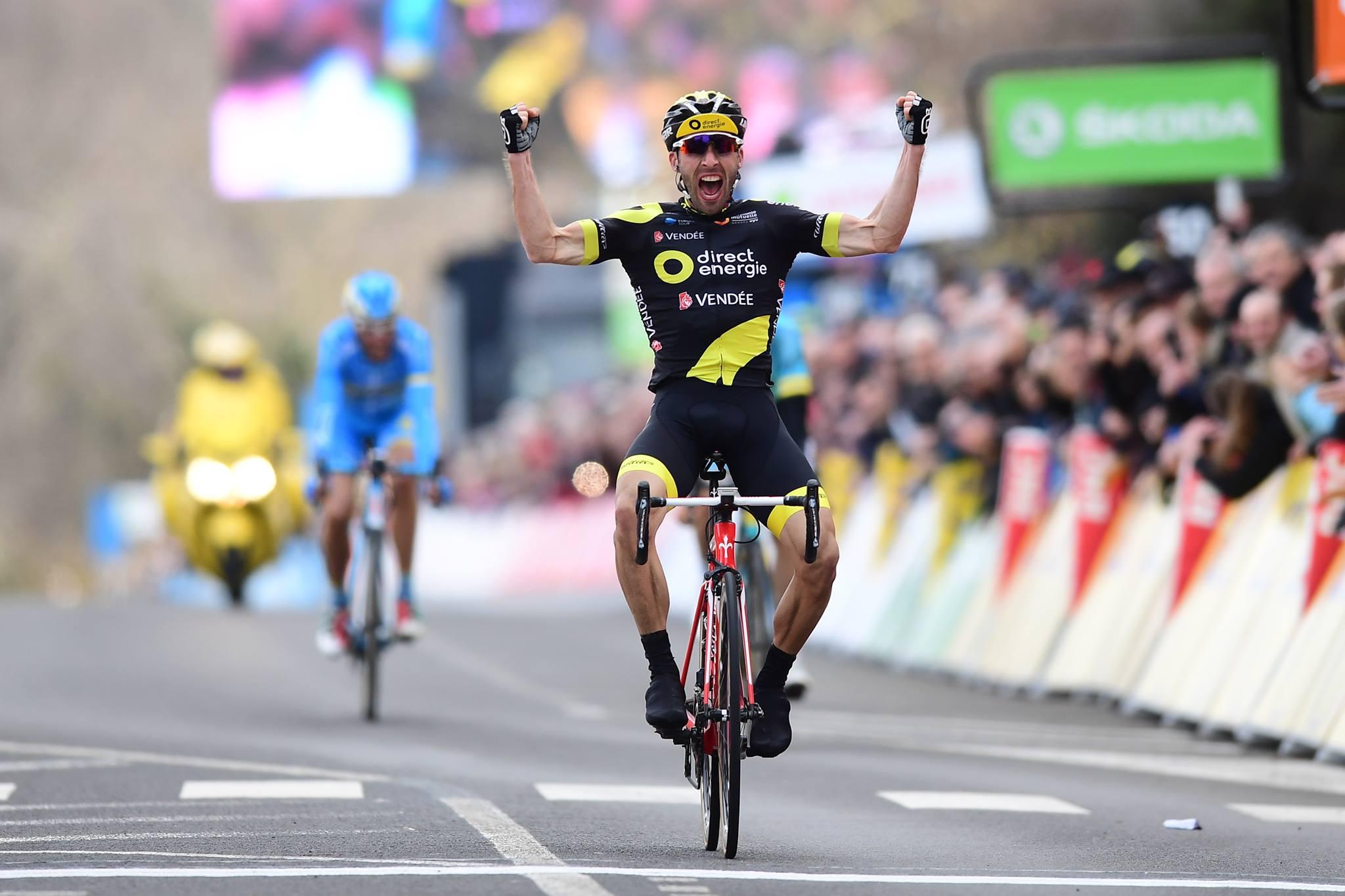 Jonathan Hivert vince la terza tappa della Parigi-Nizza 2018