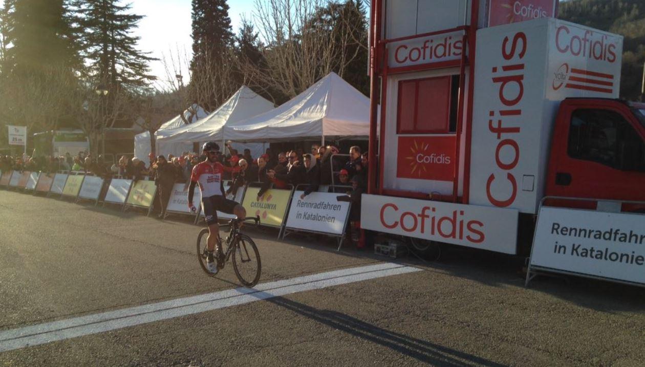 Thomas De Gendt vince la terza tappa della Volta a Catalunya