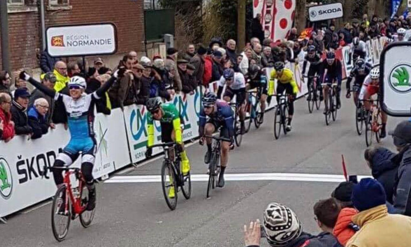 Matteo Moschetti vince la quarta tappa del Tour de Normandie 2018