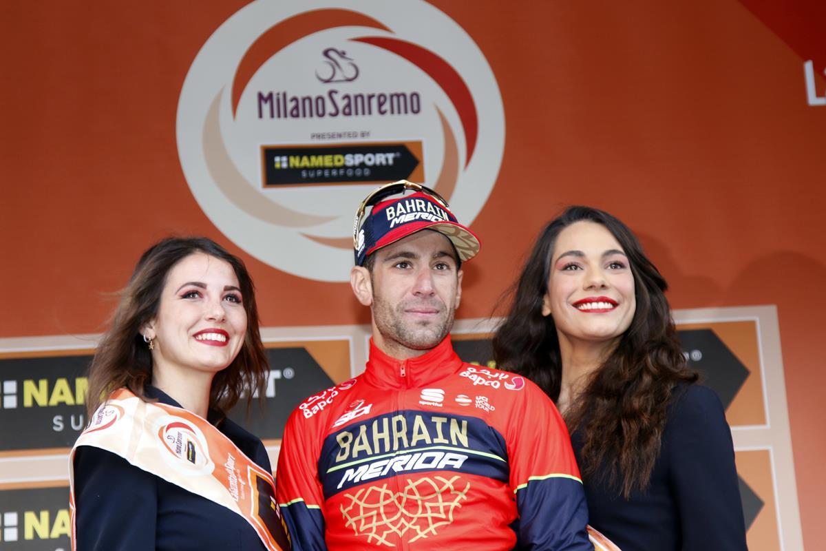Vincenzo Nibali vincitore della Milano-Sanremo 2018