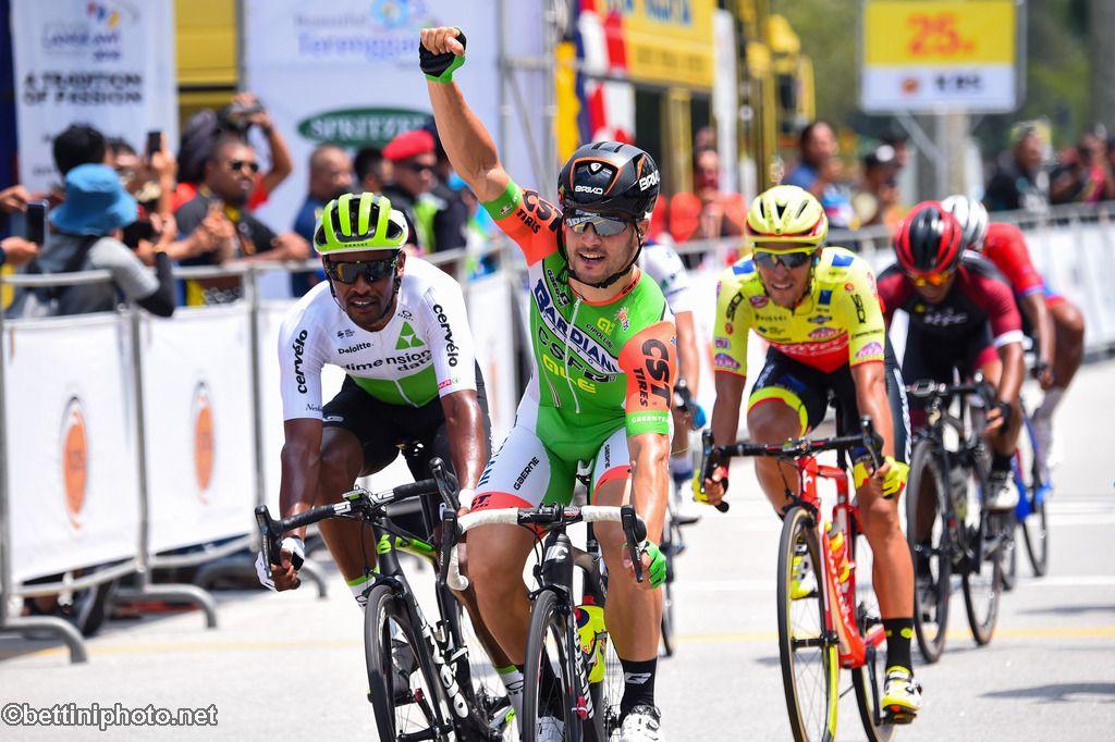 Andrea Guardini vince la prima tappa del Tour de Langkawi 2018
