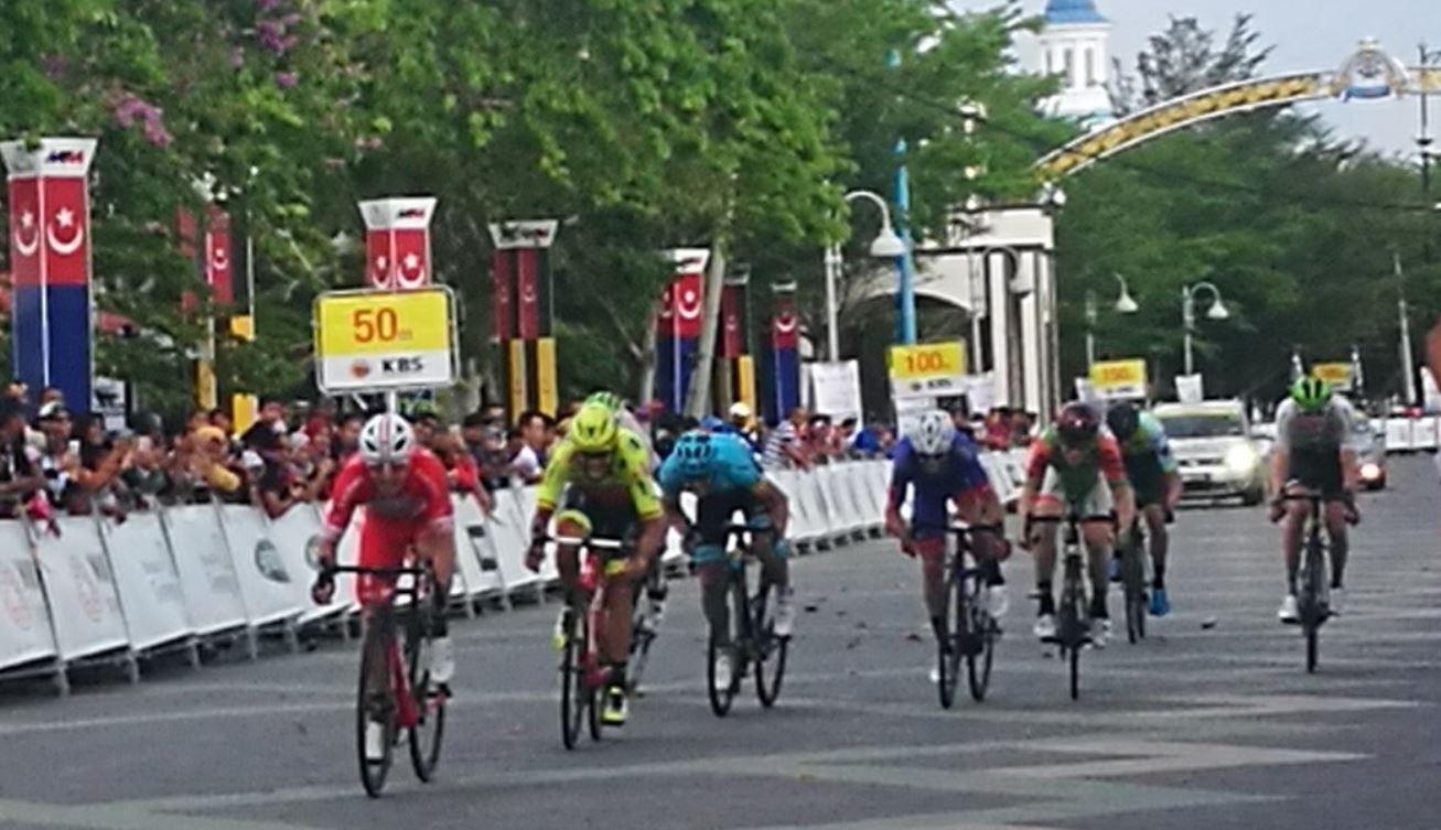 Manuel Belletti vince la settimana tappa del Tour de Langkawi
