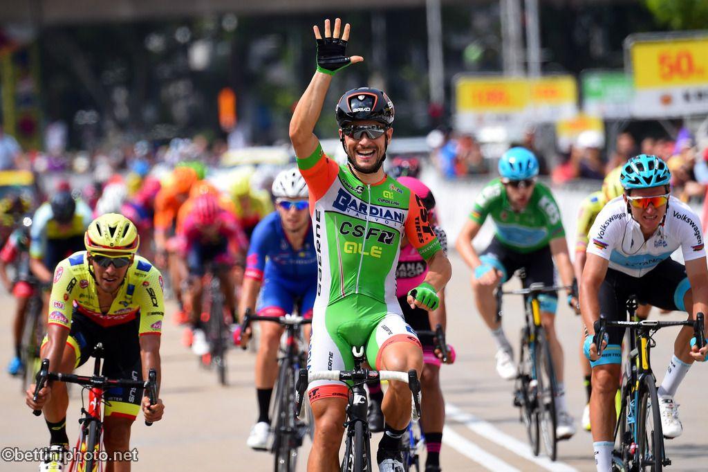 Andrea Guardini vince l'ultima tappa del Tour de Langkawi 2018