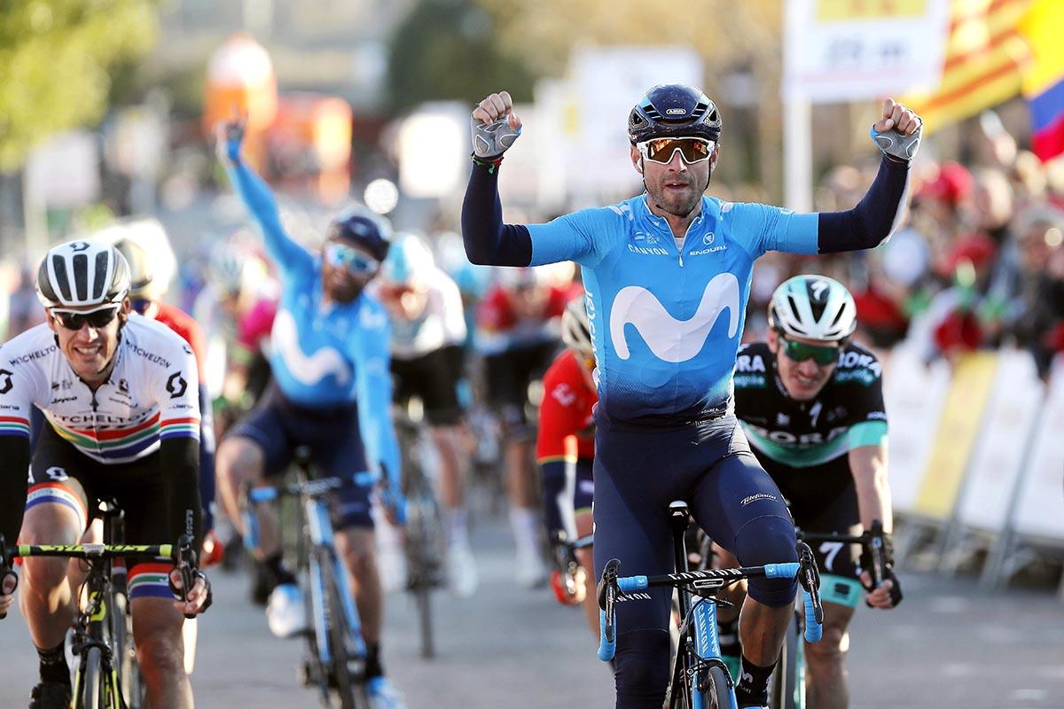 Alejandro Valverde vince la seconda tappa della Volta a Catalunya 2018