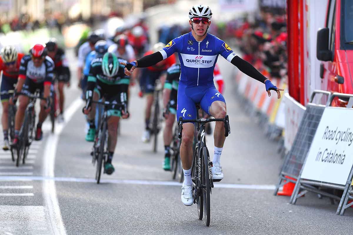 Álvaro José Hodeg vince la prima tappa della Volta a Catalunya