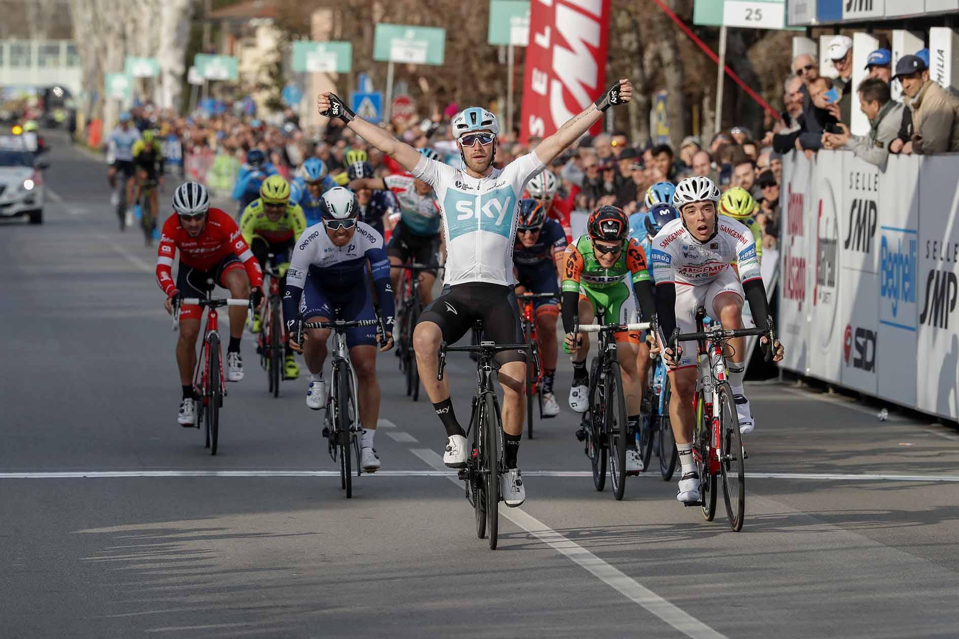 Christopher Lawless vince la terza tappa della Settimana Coppi e Bartali 2018