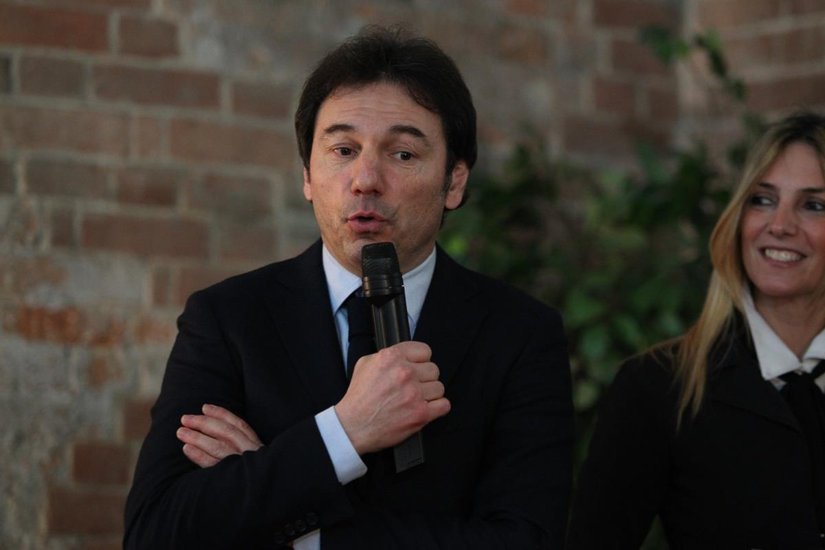 Il presidente di VO2 Team Pink Gian Luca Andrina